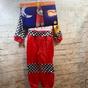 🏎🎃Racecar Driver Boys Halloween Costume 4-6X